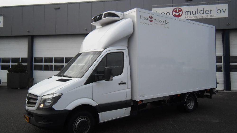 Autobelettering Vrachtwagen Theo Mulder BV