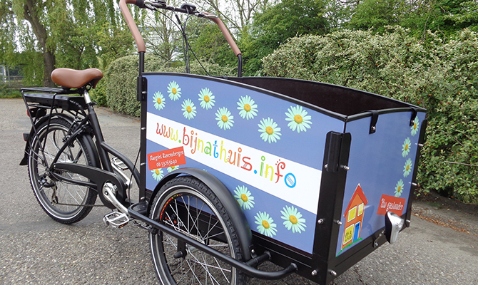 Autoreclame Bakfiets Theo Mulder BV