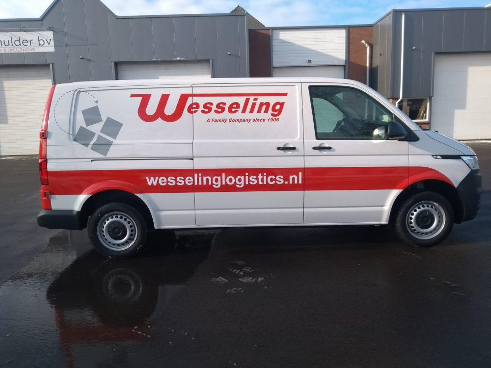 Autoreclame Op Bestelbus, Carwrap
